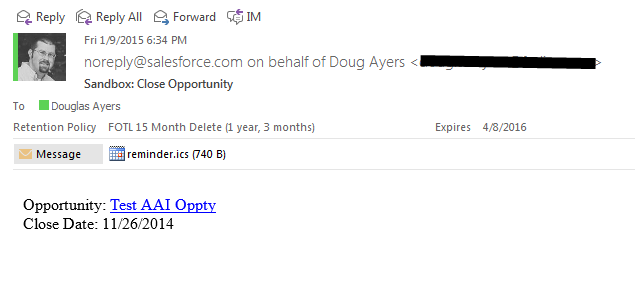 Send Calendar Invites In Visualforce Email Templates Douglas C Ayers