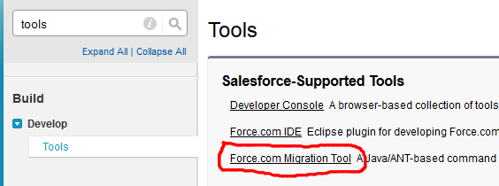 Automatic Metadata Backup with Force com Migration Tool