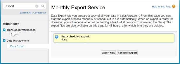 data-export-setup-screenshot