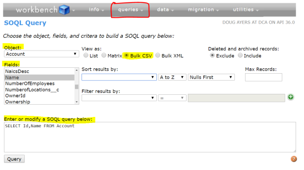 9 Easy Ways to Export Data as  CSV – Douglas C  Ayers