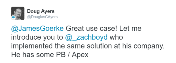 james_goerke_tweet_create_case_from_chatter_topic_intro_zach_boyd
