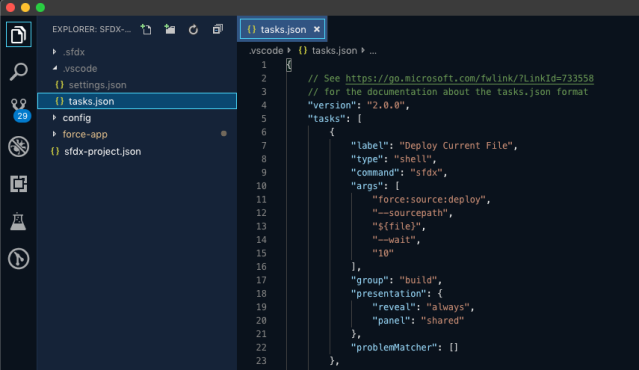 Develop Against Any Org with Visual Studio Code Tasks